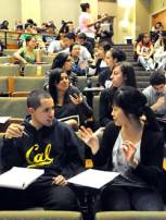 speaking students