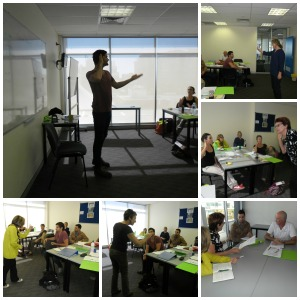 Lexis TESOL Sunshine Coast CELTA course collage