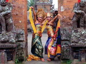 Balinese Dancers, Indonesia
